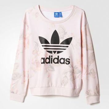 adidas Pastel Rose Sweatshirt - Multicolor | adidas US