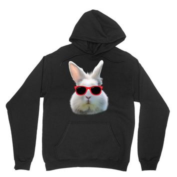 Easter Bunny Face Too Hip To Hop Unisex Hoodie