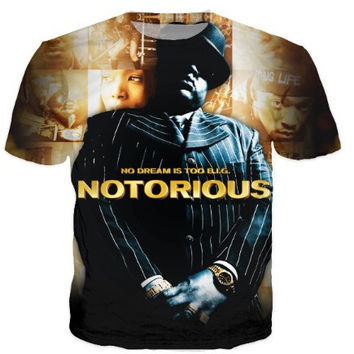 Notorious B.I.G. Biggie Smalls 3d T-Shirt Women Men Fashion Clothing Tops Summer Style tees
