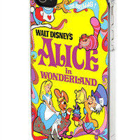 Alice in Wonderland Cover for Samsung Galaxy S3/S4 case, iPhone 4/4S/5/5S/5C, iPad, iPod