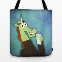 Got Milk? Unicorn Tote Bag by That's So Unicorny