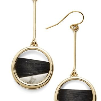 Alexis Bittar 'Lucite® Metal' Asymmetrical Drop Earrings | Nordstrom