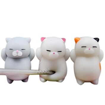 Cute Mochi Squishy Stress Relievers Irresistible for Both Kids and Everyone!