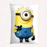 Funny Character Custom Pillow Case - Custom Pillow - One side ( Front Print )