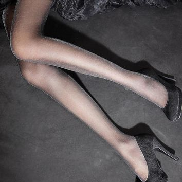 1 Sexy Charming Bling Bling Black Shiny Pantyhose Glitter Stockings for Women Girl Glossy Tights