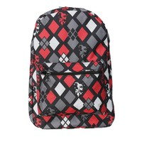 Harley Quinn Diamonds Print Backpack | Overstock.com Shopping - The Best Deals on Costumes