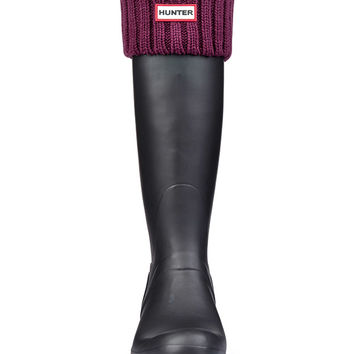 Chunky Rib Boot Socks | Hunter Boot Ltd