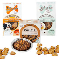 Pup-pie Peanut Butter Carob Dog Treat Combo