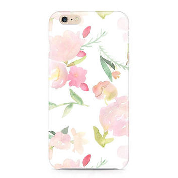 Beautiful Watercolor Flowers Phone Case - Floral Pattern Phone Case - Summer Phone Case - Peonies Phone Case - iPhone 7 - Galaxy S8