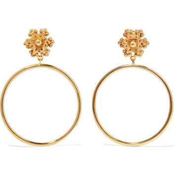 Dolce & Gabbana - Gold-tone clip earrings