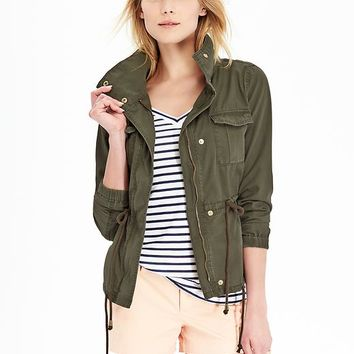Old Navy Womens Canvas Field Jackets