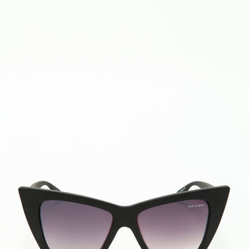VESPER SUNGLASSES IN BLACK (QUAY X SHAY)