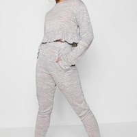 Scarlet Frill Hem & Pocket Lounge Set | Boohoo