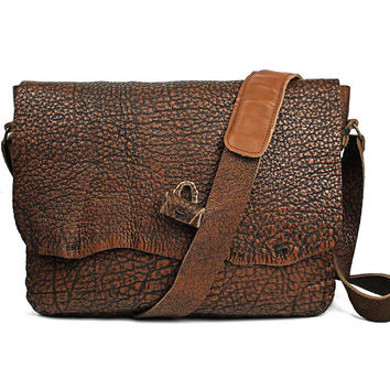 Leather Messenger Bag, 13 Inch Macbook Case, Satchel, Brown Leather Laptop Bag, 3W500
