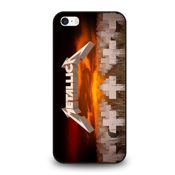METALLICA MASTER OF PUPPETS iPhone SE Case Cover