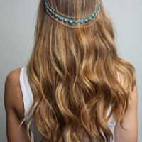 Blue Layered Headchain