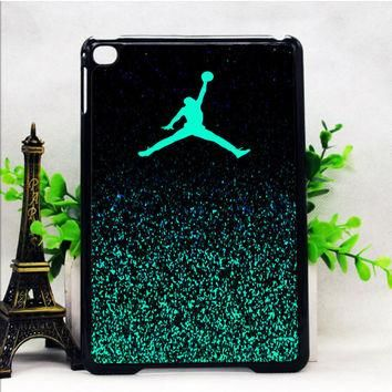 Nike Air Jordan Jump Mint Glitter iPad Mini 1 2 Cases haricase.com