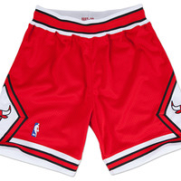 Chicago Bulls 1997-98 NBA Authentic Shorts