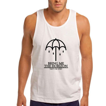 Bring Me The Horizon That The Spirit Umbrella Cover Man Tank Top