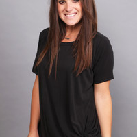 Knot Your Basic Tee {Black}