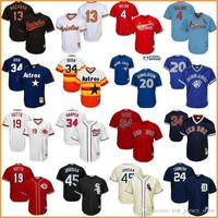 DCKL9 Jordan throwback baseball jerseys Harper Yadier Molina Joey Votto Red Sox Ortiz Oriole