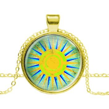 Brazil Compass Necklace