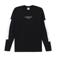 Men's Medusa L/S Crew Tee (Black) – Crooks & Castles