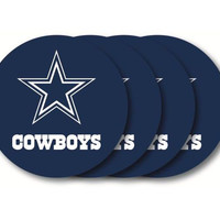 Dallas Cowboys Coaster 4 Pack Set
