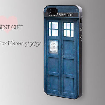 Tardis Doctor Who--------police public call box phone plastice case iphone 5s cover iphone 5c case iphone cover for iphone4/4s/5/5s/5c