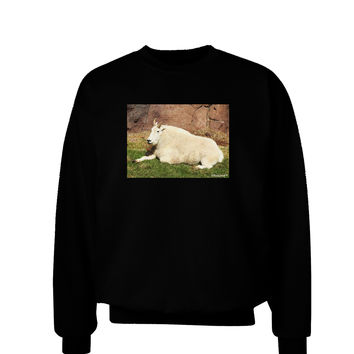 Relaxing Ram Adult Dark Sweatshirt