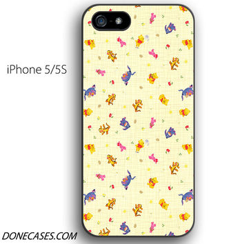 winnie the pooh and friends pattern iPhone 5 / 5S Case