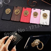 Case Cover for iPhone Luxury Sae s Hard 6 6S 7 Plus 5.5 5 5S 3D Lion