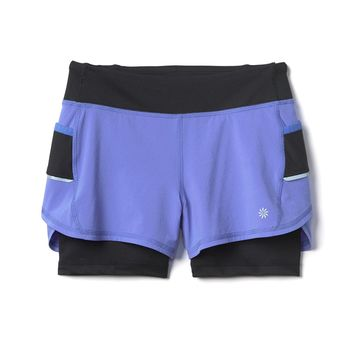 Athleta Girl Record Breaker Short 2 in 1|athleta
