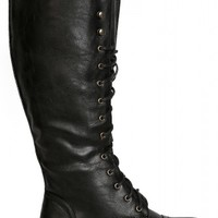 Trenton Tall Lace Up Boot  - New Shoes - New Arrivals