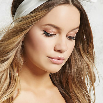 Shimmer Bow-Front Headwrap