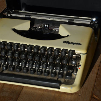 Christmas SALE! - Working Portable Olympia Typewriter - Fully Serviced