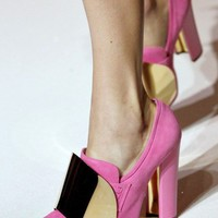 Springalicious Style / Springiest Pinkiest Shoes Ever!