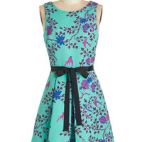 Plenty by Tracy Reese Bird Mid-length Sleeveless A-line Plenty by Tracy Reese Sweet Splendor Dress