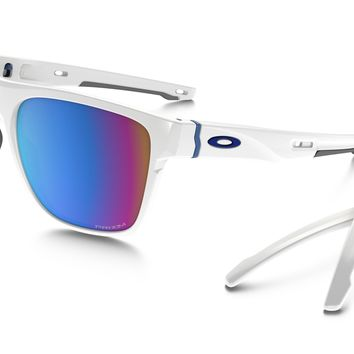 Oakley Crossrange XL PRIZM Snow in POLISHED WHITE / Prizm Snow Sapphire Iridium