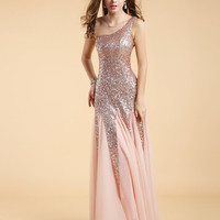 PROM DRESS SEQUINS S/M/L SIZE AVAILABLE