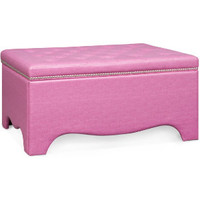 Alyssa Pink Uph Storage Bench | Upholstered Beds | Bedrooms | Art Van Furniture - the Midwest's #1 Furniture & Mattress Stores