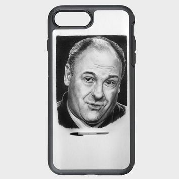 Custom iPhone Case iin 17 02 2014 14 james gandolfini pencil art