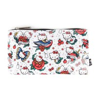 Hello Kitty Pouch: Tattoo Print Collection