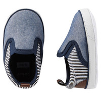 Carter's Slip-On Sneaker Crib Shoes