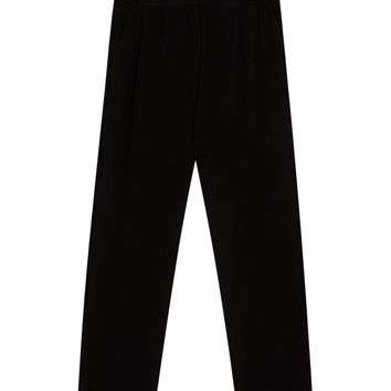Plain tapered fit trousers - Trousers - Clothing - Woman - PULL&BEAR United Kingdom