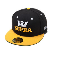 SUPRA Footwear™ | Official Site | ABOVE NEW ERA | BLACK / YELLOW
