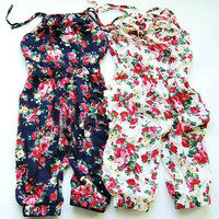 Summer Style Toddler Girls Jumpsuit