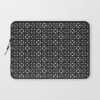 Arrows Pattern Dark Laptop Sleeve by kathrinmay