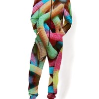 Sour Gummy Worms Onesuit