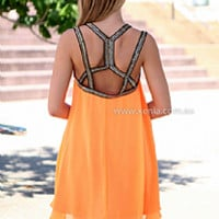PARTY TOGETHER DRESS , DRESSES, TOPS, BOTTOMS, JACKETS & JUMPERS, ACCESSORIES, 50% OFF SALE, PRE ORDER, NEW ARRIVALS, PLAYSUIT, COLOUR, GIFT VOUCHER,,Orange,Sequin,SHIFT,SLEEVELESS,MINI Australia, Queensland, Brisbane